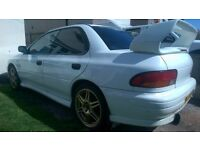 Rare Subaru Impreza WRX Type RA Import. needs attention.