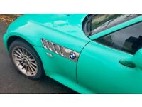 Very rare special edition 1.9L BMW Z3 (S plate) in gorgeous Fiji Green