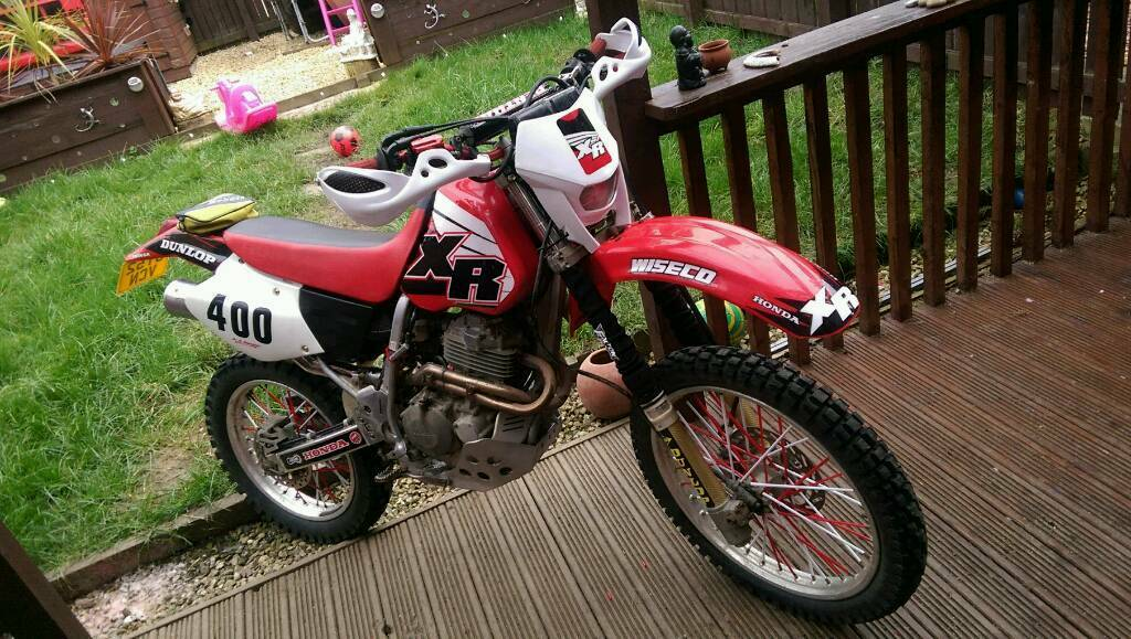 honda xr 400 road registerd swap or sell in hebburn tyne and wear gumtree. Black Bedroom Furniture Sets. Home Design Ideas