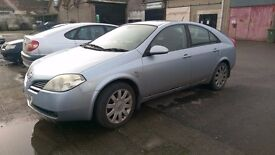 2004 nissan primera dci breaking for parts