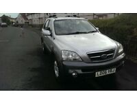 Kia SORENTO 2.5 Diesel Gearbox Automatic 2006 4x4 good condition