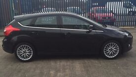 Ford Focus, black , good condition. MOT and full service history.