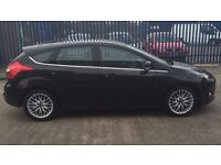 Ford Focus, black , excellent condition inside and out. MOT and full service history.