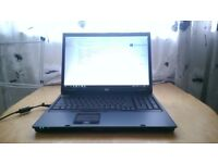 "HP NW9440 17"" Screen, Nvidia FX1500M, 4gb ram, 2.33ghz cpu, Win 10 pro VERY GOOD CONDITION"