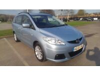 2009/59 Mazda 5 1.8 TS2, 7 seater MPV, blue, low mileage 73k, FSH, June 18 MOT, vgc throughout