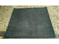 Felt backed heavy duty rubber matting