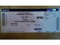 Gentleman's Dub Club Friday 3 March at Troxy E1 2 Tickets