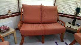 Conservatory Furniture Cane 3 Piece Suite