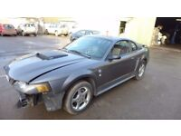 FORD MUSTANG 3.9 PETROL FOR PARTS BREAKING SPARES SALE REAR GLASS 2000-2006