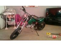 125cc small wheeled pitbike