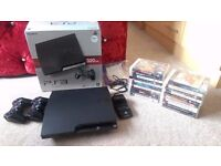 Playstation 3 Slimline (320gb)+ 22 Games, MINT CONDITION !!!
