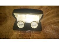 SET OF USHER WEDDING CUFFLINKS FOR SALE