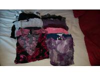 Maternity clothes bundle tops size 10 H&M, Gap, New Look, M&S 14 items £5 per item