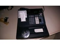 Casio cash register for sale with spare till rolls, fully working