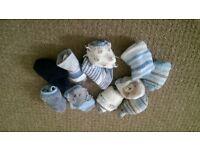 baby boy socks/ summer hat