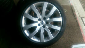 """4 X 20"""" Land Rover Range Rover Sport Supercharger Alloy Wheels with Tyres"""