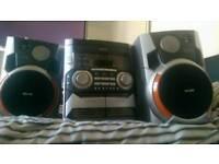 Phillips bass reflex hi-fi