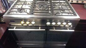 Baumatic dual fuel range cooker