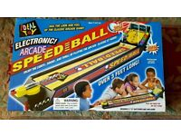 ELECTRONIC ARCADE SPEEDBALL - KIDS GAME- 5 YRS & UP - BRAND NEW
