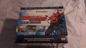 Bear Grylls 10 Dvd set-still sealed