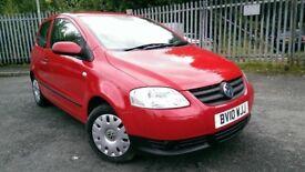 CHEAP CARS! 2 VW FOX FOR SALE LOW MILEAGES FSH! 12 MONTHS MOT