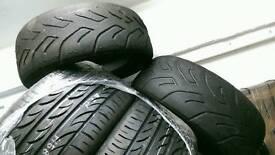 Ford Fiesta XR2 Track tyres Yokohama A048 185 / 60 / 13
