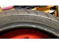 Michelin pilot road tyre 120/70/17