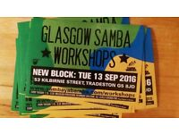 Glasgow Samba Drumming Workshop