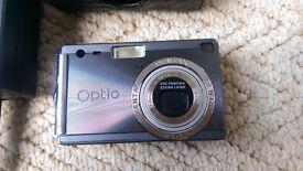 Pentax Optio S4i Digital Camera, 4mp, 3x optical zoom