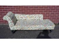 Beautiful antique chaise longue