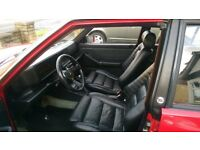lancia delta integrale 16v 1992 red with black leather interior
