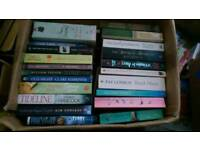 Paperback Fiction Books - around 50