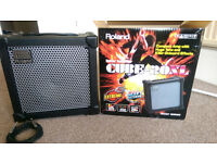 Roland Cube 20-XL Guitar Amp with 3m instrument cable