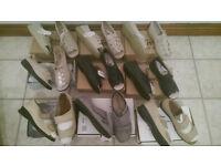 Womens sandles and shoe bundle