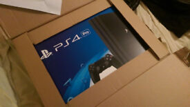 PlayStation 4 Pro 1TB Console – Black - Brand New Sealed