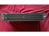 DBX 231 Dual Channel 31-band Equalizer. Lightly used and good working order.