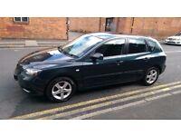 Mazda 3 1.6D TS, Diesel, Manual, 2006, Green/Grey, 5 Door, MOT, Service History, HPI Clear