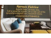 Spruce Fairies - for all your domestic needs.