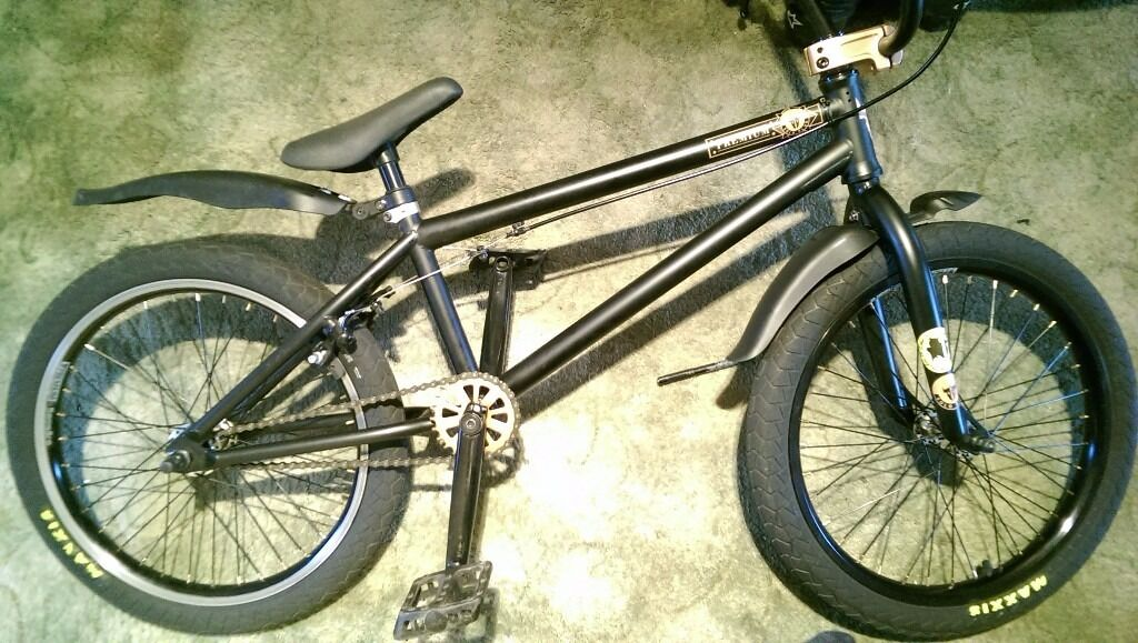 Sold Premium Bmx Bike Premium Solo Plus 20 5 Matte Black