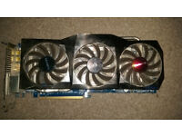 GIGABYTE HD6870 with box and manual in good working condition