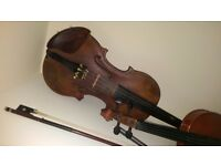 Very old fiddle for sale