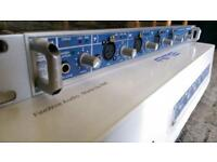 RME Fireface 800 interface