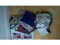 Free fabrics scraps