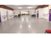 Dance Studio Space for Hire