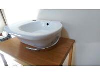 Kohler Stylish Wash Basin with Towel Rail