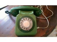 Genuine working vintage telephone