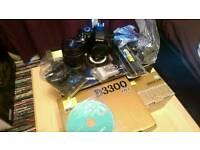 Nikon D3300 Kit + 18-55mm Lens New