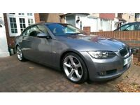BMW 325i SE convertible red leather