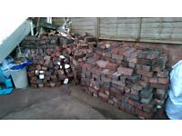 Free Victorian Bricks 2/300 Approx Various Sizes