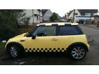 2002 Mini Cooper Yellow